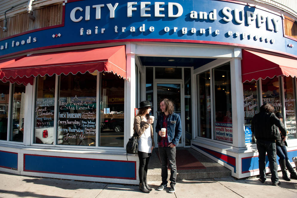 City Feed and Supply in JP, JP voted coolest neighborhood in Boston