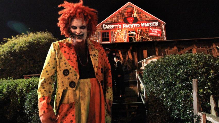 Barrett's Haunted Mansion in Abington