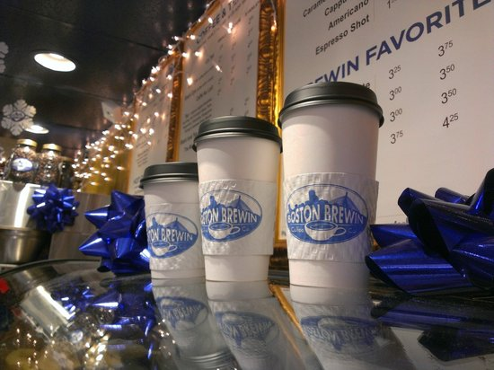 Boston Brewin Coffee - The Best Places to Get Coffee in Boston